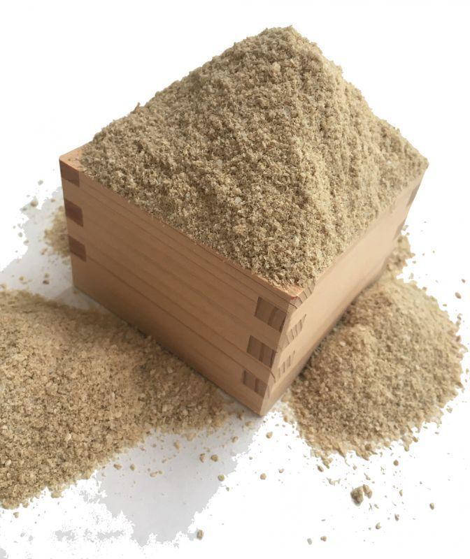 画像1: 無農薬・有機肥料栽培米ひのひかりのヌカ 1kg (1)