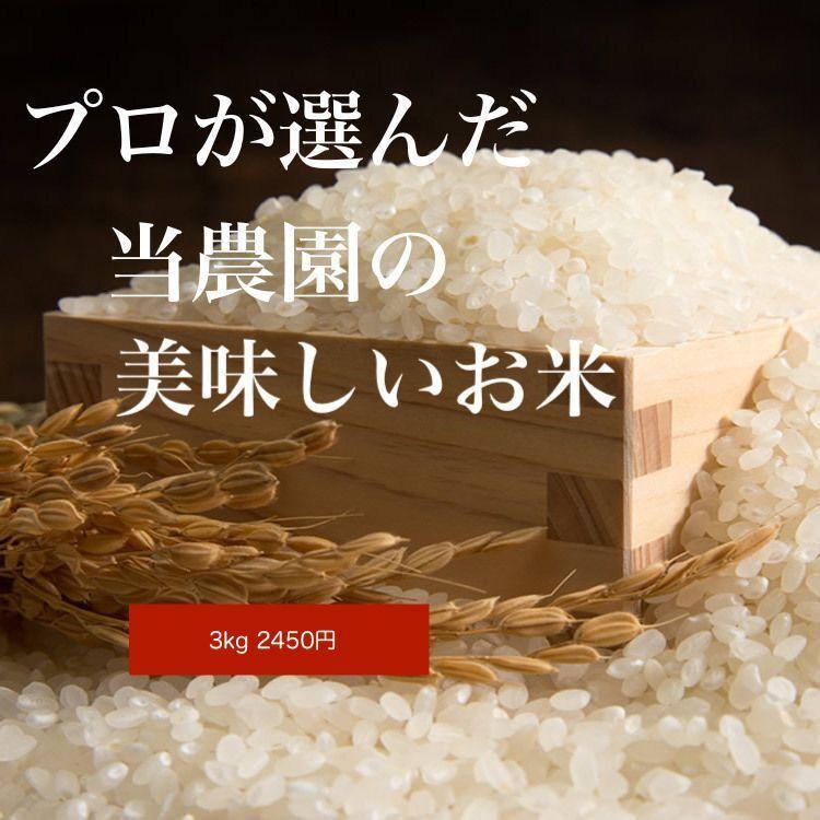 画像1: 新米令和2年度産 減農薬米 ひのひかり 3kg (1)